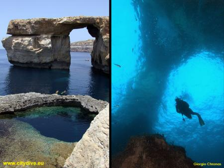 Blue Hole (Azur Window),Gozo,Malta