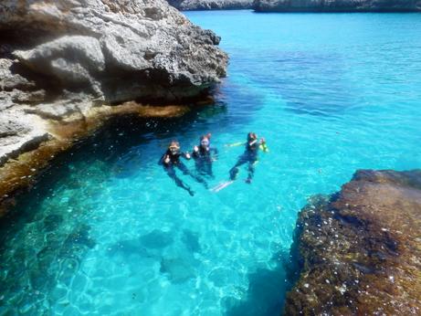 East Coast Divers Mallorca, Porto Colom - Schnorchelausflug, East Coast Divers; tauchen auf Mallorca; Mallorca; Schnorcheln; Schnorchelausflug, East Coast Divers, Porto Colom, Mallorca, Spanien, Balearen