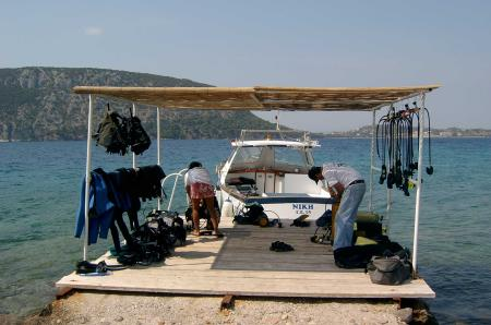 Kallianos Diving Center,Ermioni,Peloponnes,Griechenland