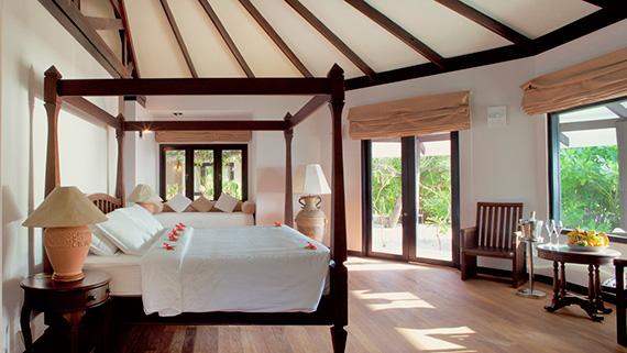 Lagoon Villa, Zimmer, Ocean Dimensions, Kihaa Maldives, Baa Atoll, Malediven