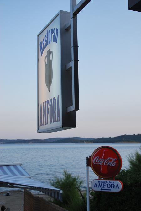 Restoran Amfora,Orebic,Peljesac,Kroatien