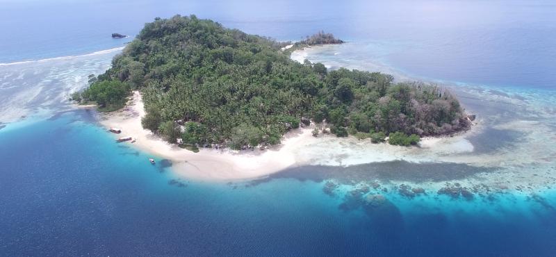 Blue Bay Divers, Sahaung Island, Nord Sulawesi, Indonesien, Sulawesi