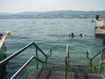 Tauchbasis Inauen,Zürich,Schweiz
