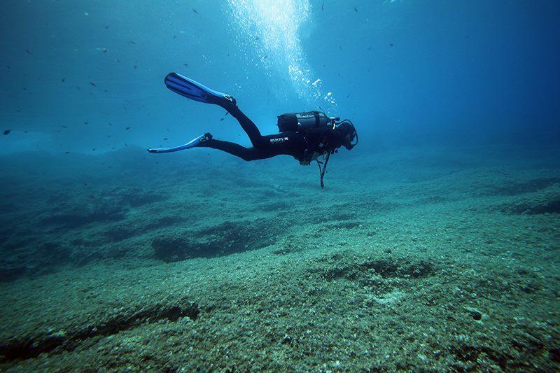 Taucher, B-24 Diving Center, Komiza, Kroatien