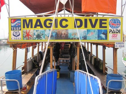Magic Dive,Alanya,Türkei