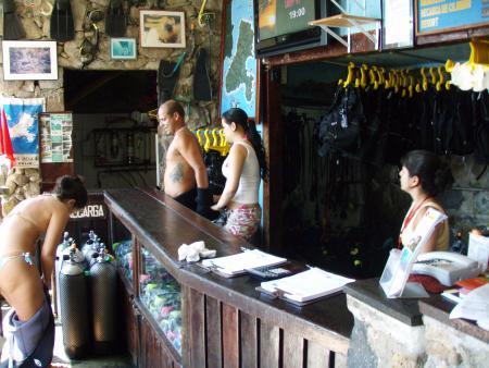 Colonial Diver,Ilhabela,Brasilien