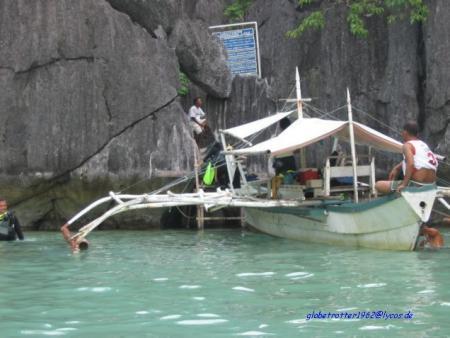 Coron Island,Barrakuda Lake,Philippinen
