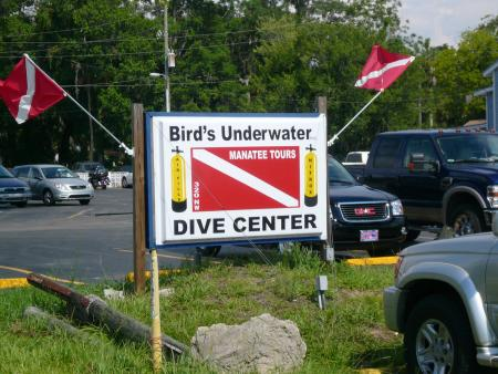 Bird`s Underwater Dive Center,Crystal River,Florida,USA