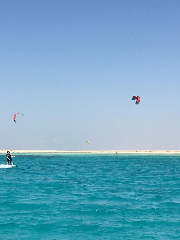 Kite Safari mit der SIMSIM DIVE, Insel Kite Ägypten, SimSim Dive, Ägypten, Hurghada