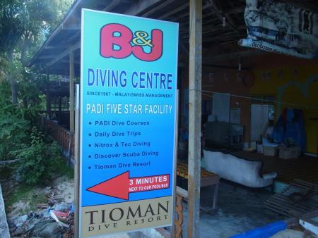 B&J Diving Centre,Tioman,Malaysia