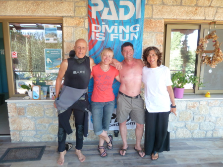 Dive Code,Kalogria - Stoupa,Griechenland