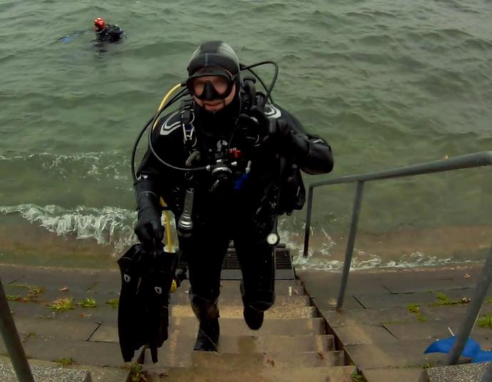 Lake Constance, Überlingen, Parkhaus Post, Dreams of Diving, Friedrichshafen, Deutschland, Baden Württemberg