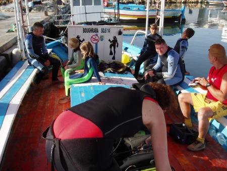 Scuba Dive Center Hergla,Tunesien