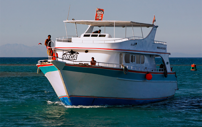 Orca Dive Club, Turtle`s Inn Dive Club, El Gouna, Ägypten, Hurghada