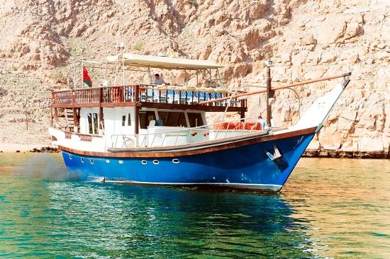 M/Y Blue Dhow Al Musandam, Oman