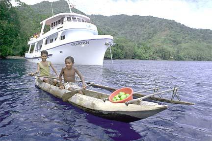 M.V. Chertan, Papua-Neuguinea