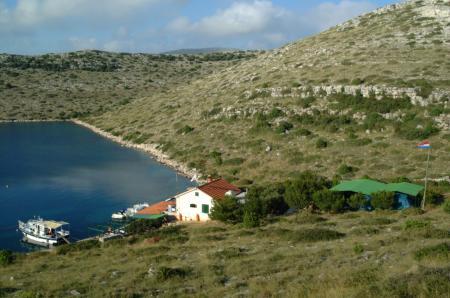 Kornati Dive Camp / Nationalpark Kornati,Kroatien