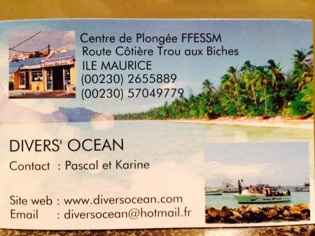 Diver´s Ocean,Trou aux Biches,Mauritius