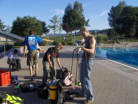 Tauchschule dive-trend,Murrhardt,Baden Württemberg,Deutschland
