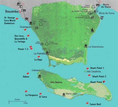 Allgemein Bávaro-Bayahibe mit AQUATRACK, St. George Wreck,Bayahibe,Dominikanische Republik