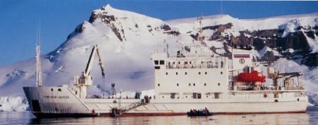 MV Grigoriy Mikheev,Antarktis