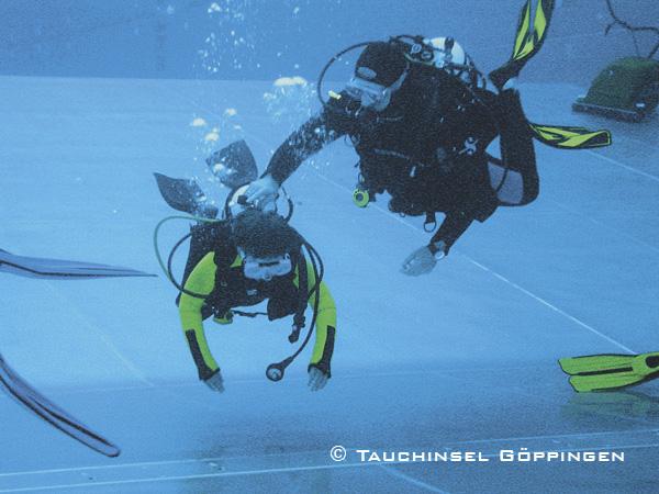 Schnuppertauchen, Schnuppertauchen, DSD Discover Scuba Diving, Tauchinsel Göppingen, Deutschland, Baden Württemberg