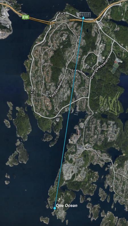 Kristiansand,Rona,Norwegen