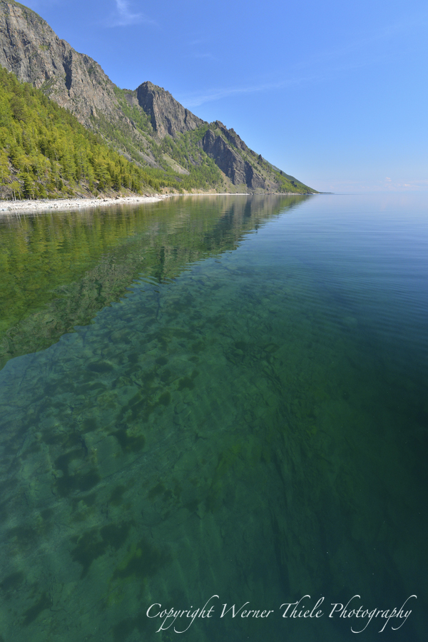 Tauchsafari auf dem Baikalsee, Listwjanka,Baikalsee / Sibirien,Russland