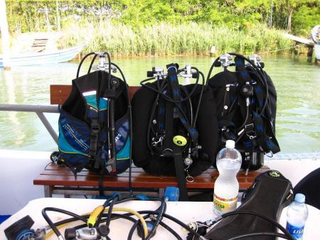 Blu Sport - Diving Center Jesolo,Cavallino Hafen,Italien