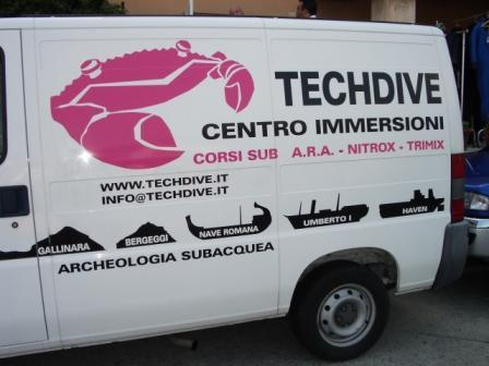 Techdive,Porto di Arenzano,Italien