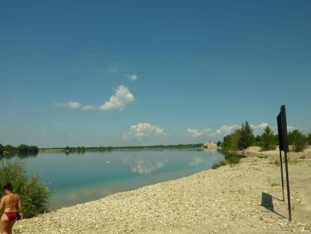 Hegyeshalom ( Straß-Sommerein )-Baggersee,Ungarn