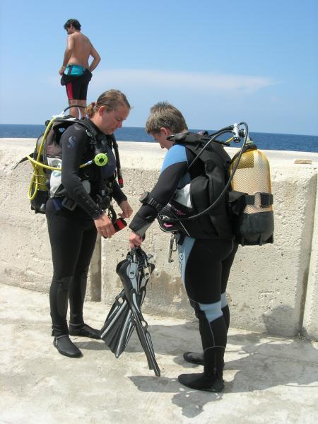 H2O Divers,Golden Bay,Malta