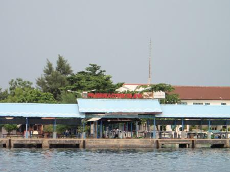 Thousand Island / Putri Island,bei Jakarta,Indonesien