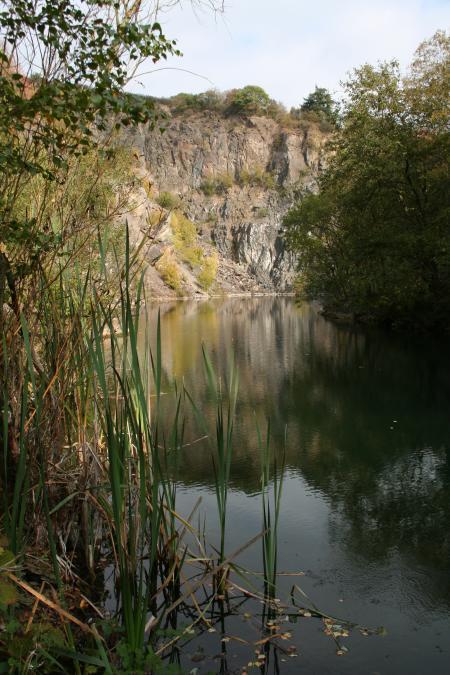 Silbersee,bei Trier,Rheinland Pfalz,Deutschland