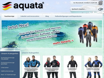 Aquata Onlineshop