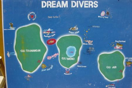 Dream Divers powered by Extra Divers,Gili Trawangan,Allgemein,Indonesien