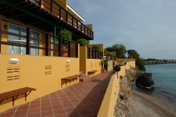 All West Apartments und Diving, Curacao
