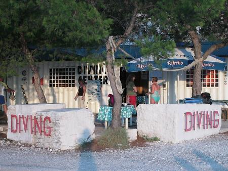Diving Center Puntizela,Kroatien