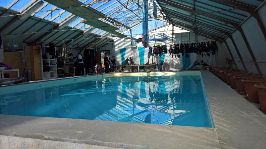 Pool, idive pool, i DIVE Tauchschule, Wien, Österreich