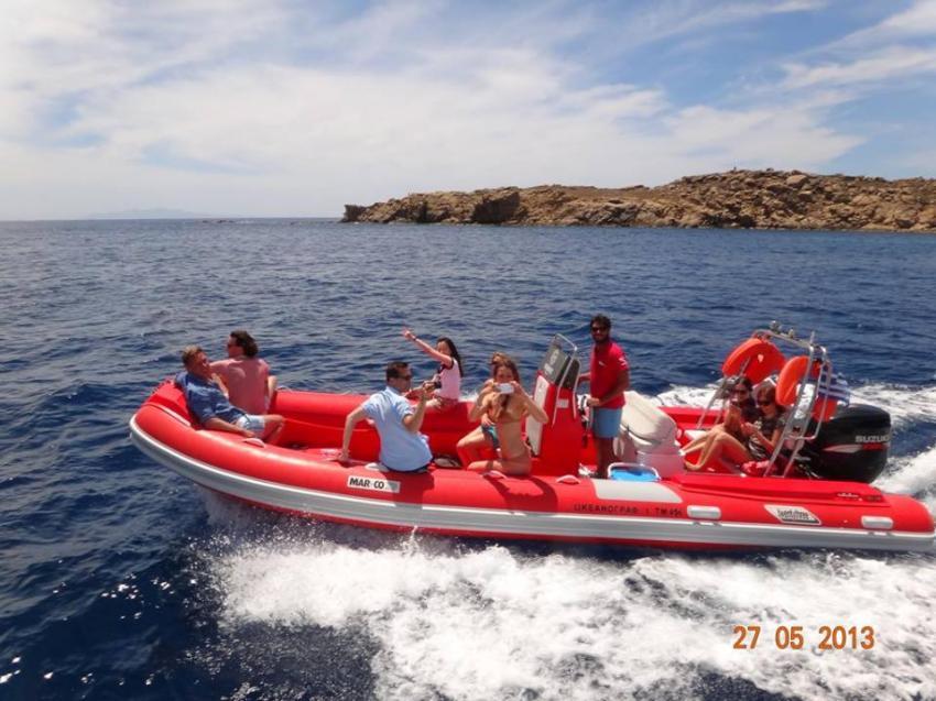 Tauchen von Mykonos by GoDive Mykonos, Lia Beach GoDive Mykonos PADI Resort,Griechenland