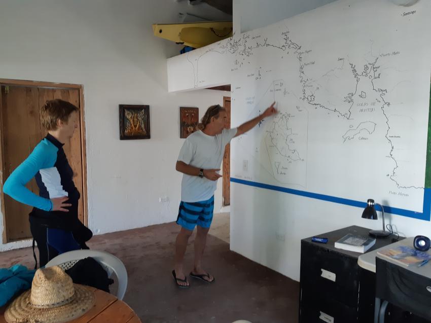Dive Base Coiba, Panama