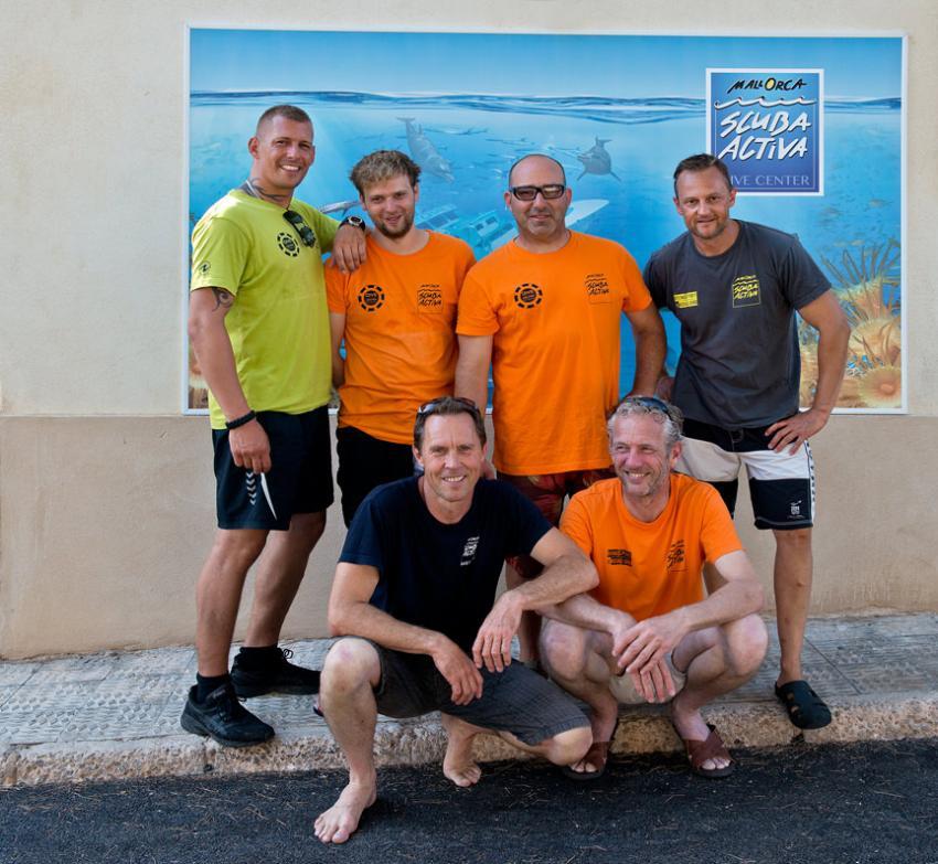 Team Scuba Activa, Scuba Activa, San Telmo, Mallorca, Spanien, Balearen