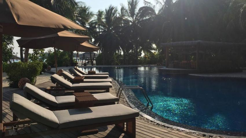 Pool, Pool, Ocean Dimensions, Kihaa Maldives, Baa Atoll, Malediven
