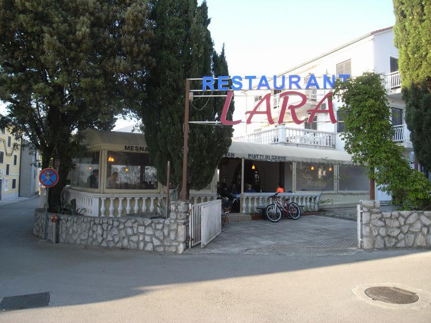 Restaurant Lara, Restoran Lara, Punat, Insel Krk, Kroatien