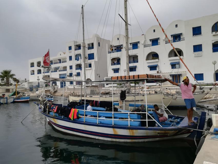 S.A.A.M Diving Center Monastir/Hotel Thalassa, Tunesien