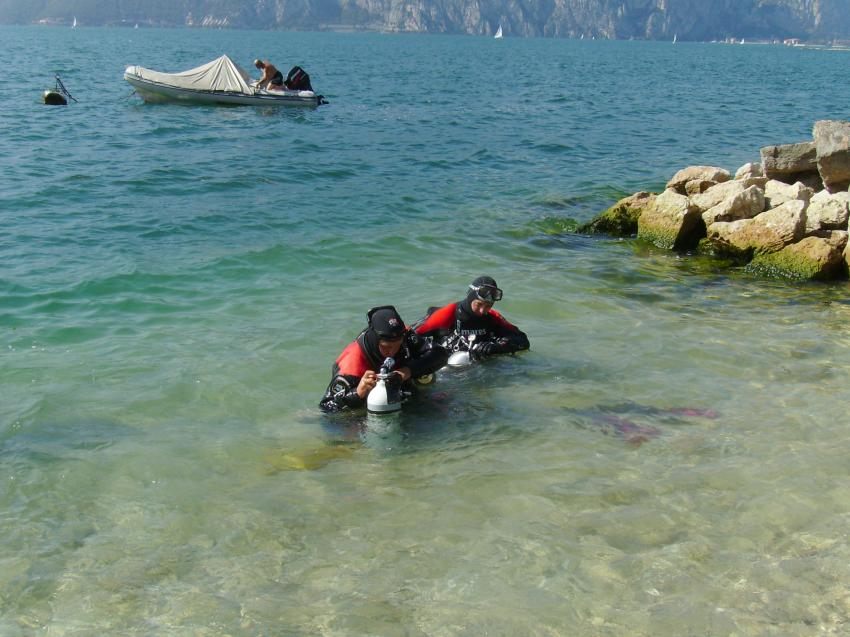 Gardasee, Assenza di Brenzone, Sportdiver Club, Assenza di Brenzone, Italien