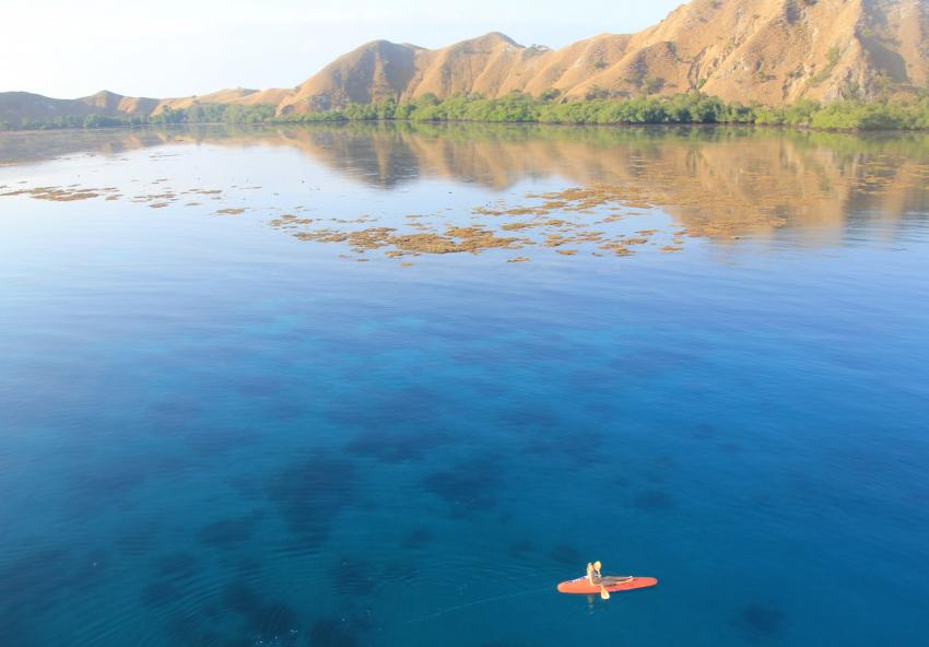 2 Kajaks stehen zur Verfügung, Moana Cruising - Liveaboard Komodo, Indonesien
