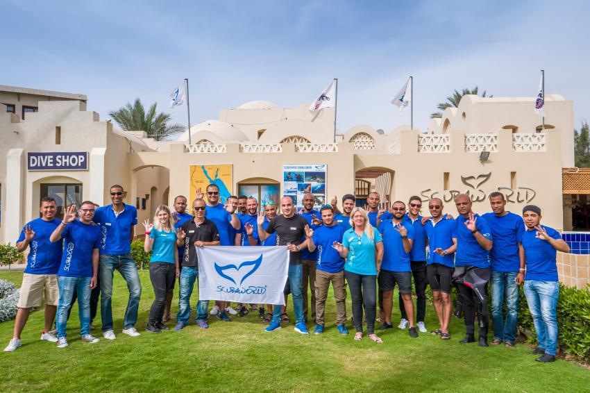 Scuba World Divers Team Makadi Bay, Tauchen in der Makadi Bay, Scuba World Divers Makadi Bay, Ägypten, Hurghada