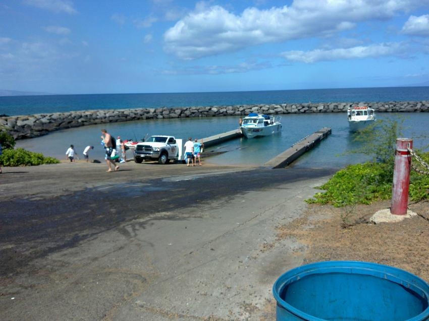 Kihei Boat Ramp, Scuba Shack, Kihei Maui, USA, Hawaii