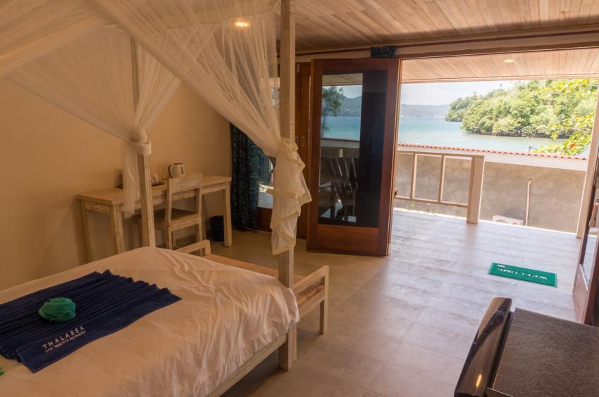 Thalassa Dive Resort Lembeh single room view, Thalassa, Manado, Nord-Sulawesi, Indonesien, Sulawesi